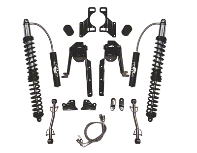 SkyJacker 3.5-4.5 in. LeDuc Series Rear Coil Over Suspension Lift Kit (07-18 Wrangler JK)