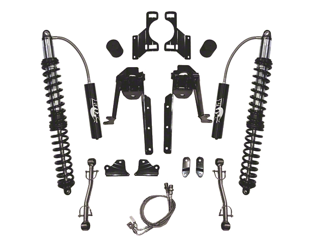 SkyJacker 4.5-6 in. LeDuc Series Rear Coil Over Suspension Lift Kit (07-18 Wrangler JK)