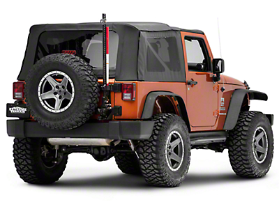 Rugged Ridge Off-Road Jack Mounting Bracket Kit (07-18 Jeep Wrangler JK)
