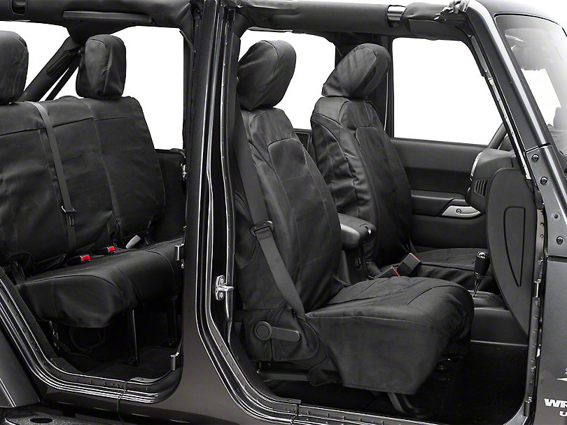 Rugged Ridge Elite Ballistic Pro Seat Cover (11-18 Jeep Wrangler JK)