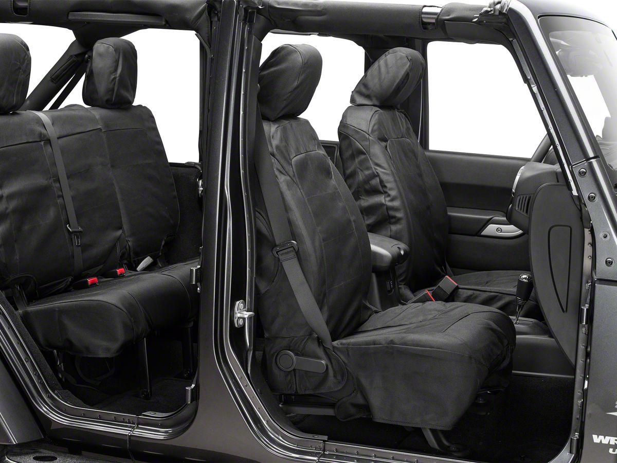 Jeep Wrangler Seats >> Rugged Ridge Elite Ballistic Pro Seat Cover 11 18 Jeep Wrangler Jk