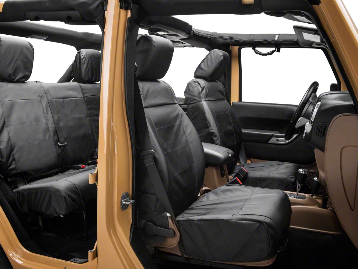 Jeep Wrangler Seat Covers >> Rugged Ridge Ballistic Seat Cover 11 18 Jeep Wrangler Jk