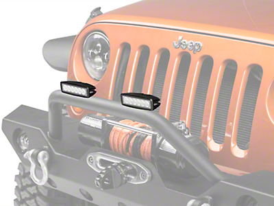 Hella 6 in. ValueFit Mini LED Light Bar - Flood Beam (87-18 Wrangler YJ, TJ, JK & JL)