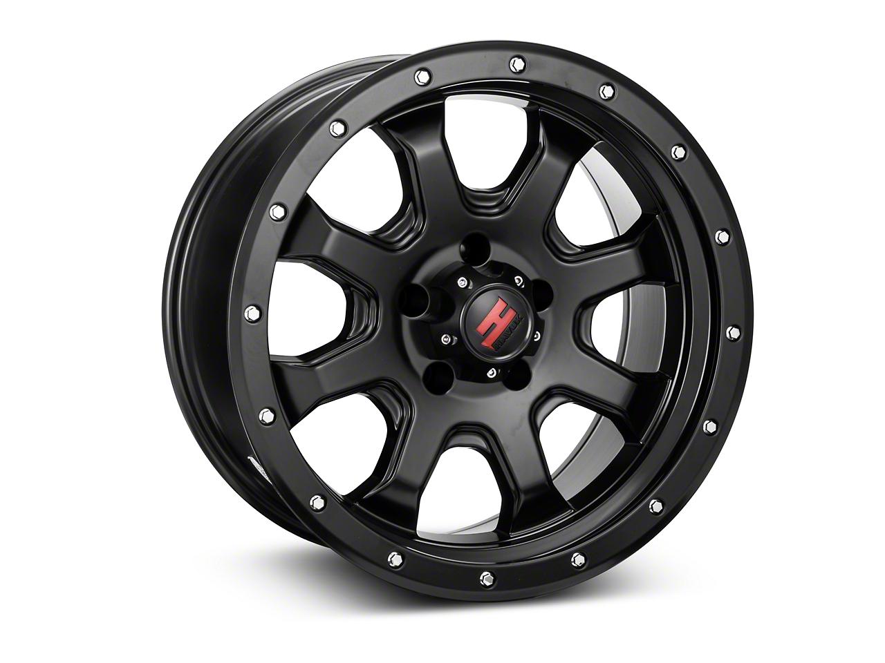 Havok Off-Road H-105 Matte Black Wheel - 18x9 (07-17 Wrangler JK)