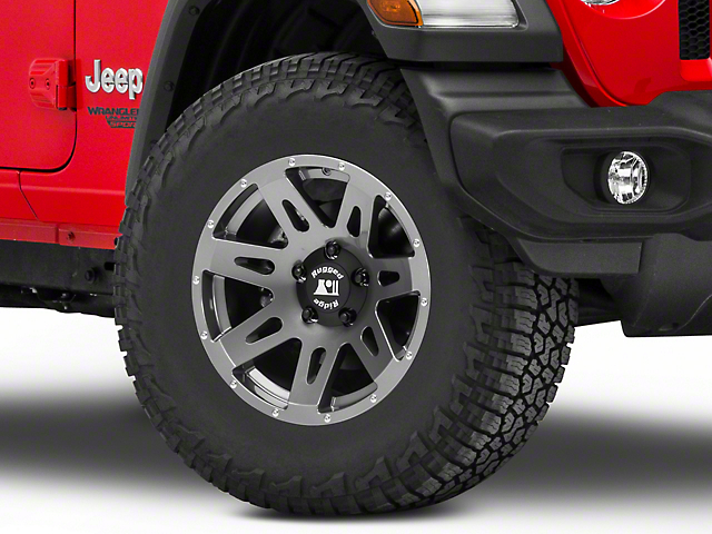 Rugged Ridge XHD Gun Metal Gray Wheel - 17x8.5 (18-19 Jeep Wrangler JL)