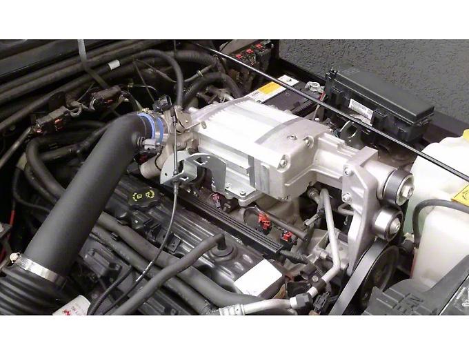 Sprintex Non-Intercooled Supercharger Kit w/ Hypertech Tuner (05-06 Wrangler TJ)