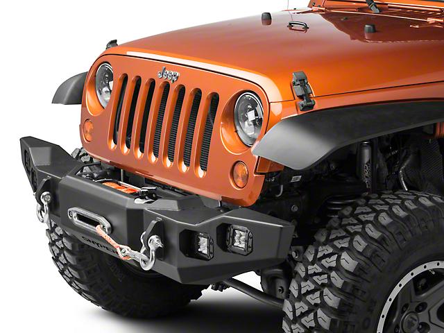 Marksman Front Bumper (07-18 Jeep Wrangler JK)