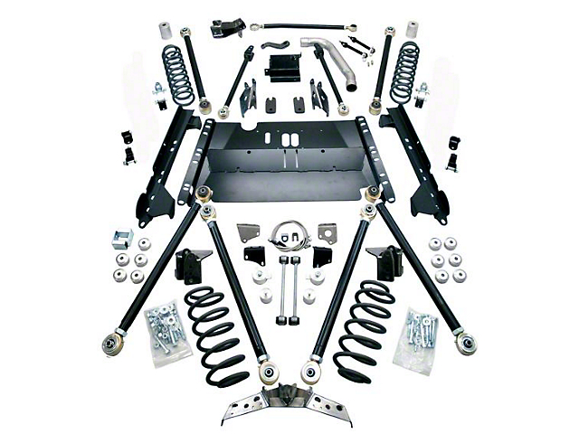 Teraflex 5 in. Pro LCG Suspension System w/o Shocks (97-06 Jeep Wrangler TJ)