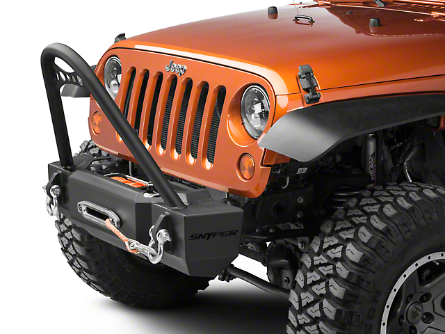Scope Stubby Front Bumper with Stinger (07-18 Jeep Wrangler JK)