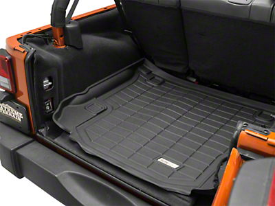 Wade Sure-Fit Cargo Mat - Black (07-18 Wrangler JK 4 Door)