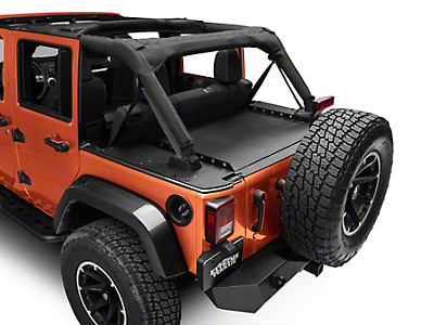 Alterum Slipstream Secure Cover System (07-18 Wrangler JK 4 Door)