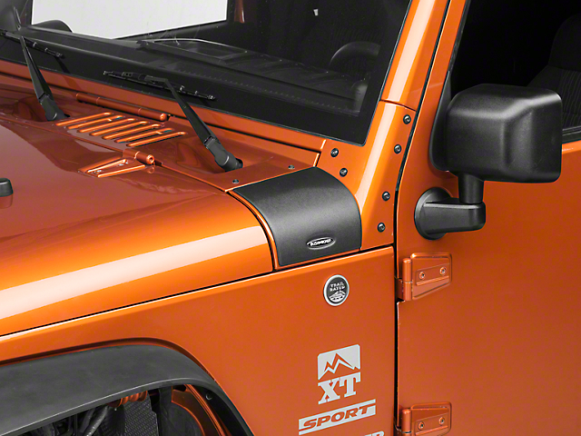 Bushwacker Jeep Wrangler Trail Armor Cowl Cover 14015 07
