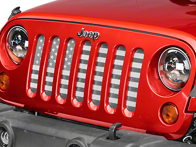 Dirty Acres Grille Insert - American Tactical (07-18 Wrangler JK)