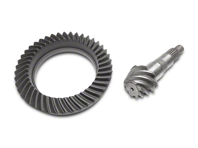 Alloy USA Dana 44 Front Axle/44 Rear Axle Ring and Pinion Gear Kit; 5.38 Gear Ratio (07-18 Jeep Wrangler JK Rubicon)