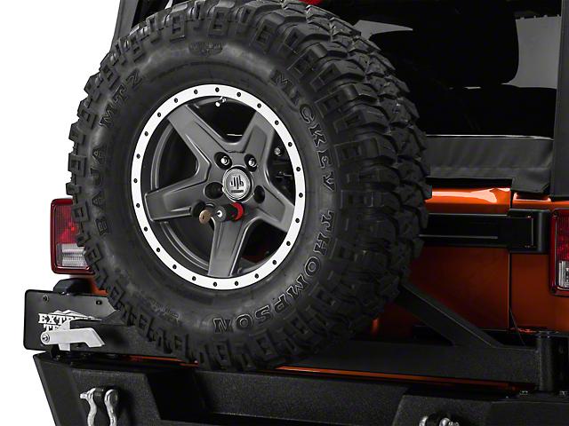 Spare Tire Lock (97-18 Jeep Wrangler TJ & JK)