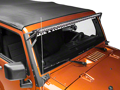 Raxiom 50 in. Slim LED Light Bar - Flood/Spot Combo (87-18 Wrangler YJ, TJ & JK)