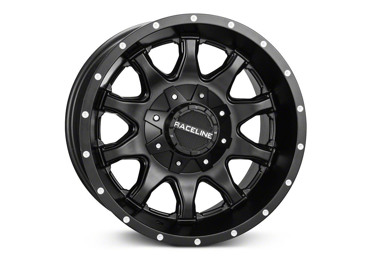 Raceline Shift Black Wheel - 17x9 (07-18 Wrangler JK)
