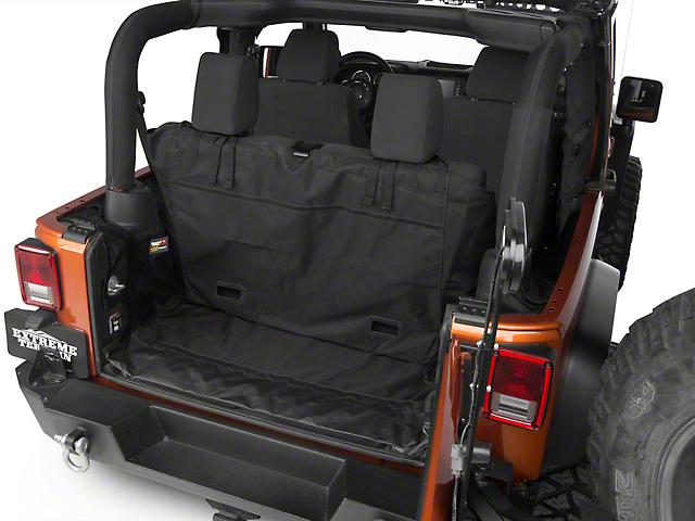 Rugged Ridge C3 Cargo Cover - No Subwoofer (07-18 Jeep Wrangler JK 2 Door)