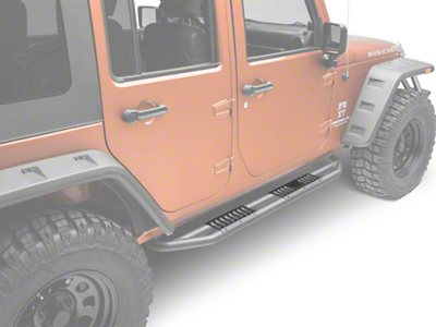 Rugged Ridge RRC Side Armor Guard Plates (07-17 Wrangler JK 4 Door)