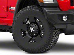 Rockstar XD775 Matte Black Wheel; 17x9 (18-20 Jeep Wrangler JL)