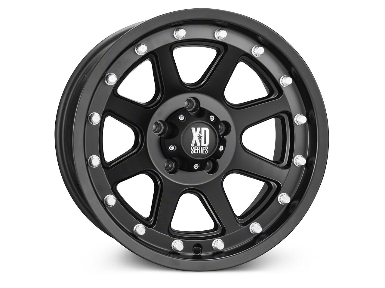 XD Addict Matte Black Wheel - 17x9 (07-18 Jeep Wrangler JK; 2018 Jeep Wrangler JL)