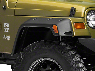 Rugged Ridge 6 in. All Terrain Fender Flare Kit (97-06 Wrangler TJ)