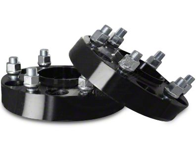 Coyote 1.25 in. Billet Aluminum Hubcentric Wheel Spacers (87-06 Jeep Wrangler YJ, TJ)