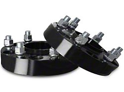 Coyote 1.25 in. Billet Aluminum Hubcentric Wheel Adapters - 5x4.5 to 5x5.5 (87-06 Jeep Wrangler YJ, TJ)