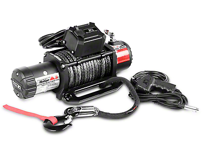 Rugged Ridge Nautic 12,500 lb. Winch w/ Synthetic Rope (87-19 Jeep Wrangler YJ, TJ, JK & JL)