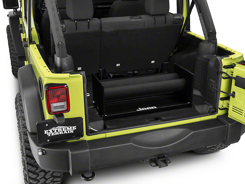 Window Vault Soft Top Window Storage System (87-18 Jeep Wrangler YJ, TJ, JK & JL)