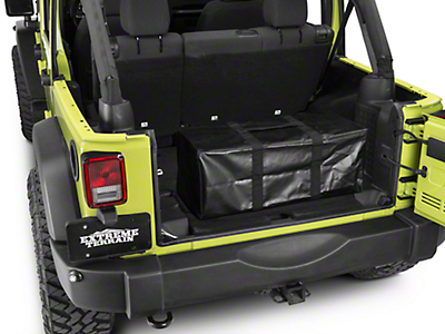 Window Vault Storage Bag (87-18 Jeep Wrangler YJ, TJ, JK & JL)