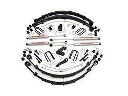 Rough Country 6 in. Suspension Lift Kit w/ Shocks (87-95 Jeep Wrangler YJ)