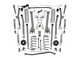 Rough Country 6 In. X-Series Long Arm Suspension w/ Shocks (97-06 Jeep Wrangler TJ)