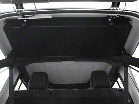 Grenadeacorp Sub-Roof Concealed Locking Storage System - 2-Door (07-18 Wrangler JK)