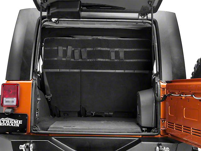 Sub-Roof Concealed Locking Storage System (07-18 Jeep Wrangler JK 4 Door)