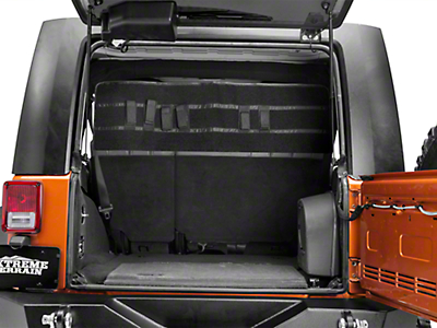 Grenadeacorp Sub-Roof Concealed Locking Storage System (07-18 Jeep Wrangler JK 4 Door)