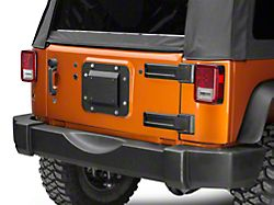Barricade Spare Tire Delete with License Plate Mount (07-18 Jeep Wrangler JK)