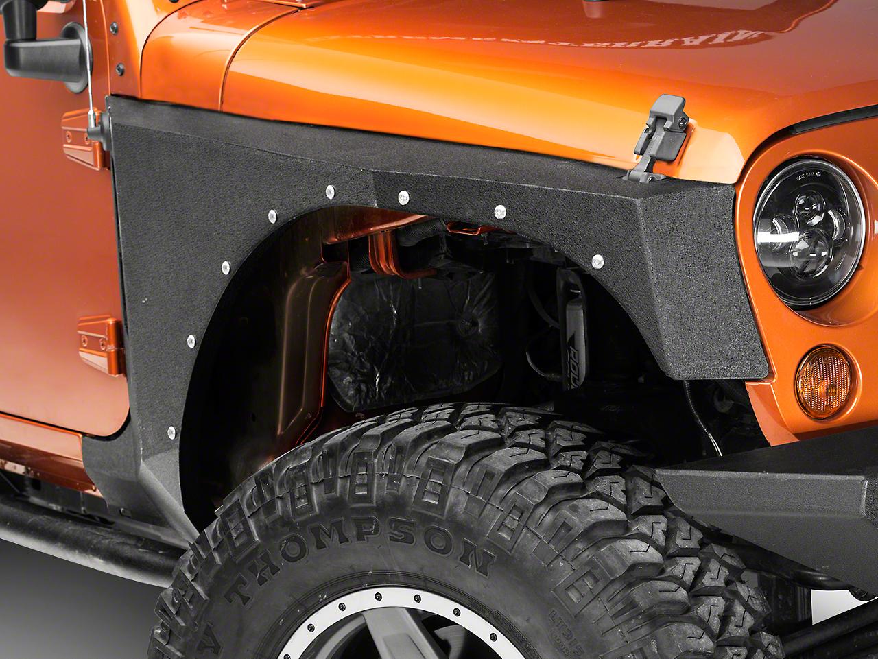 RBP Pro-Series Front Fenders (07-18 Wrangler JK)