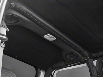 Hothead Soft Top Headliner - Black (97-06 Wrangler TJ)