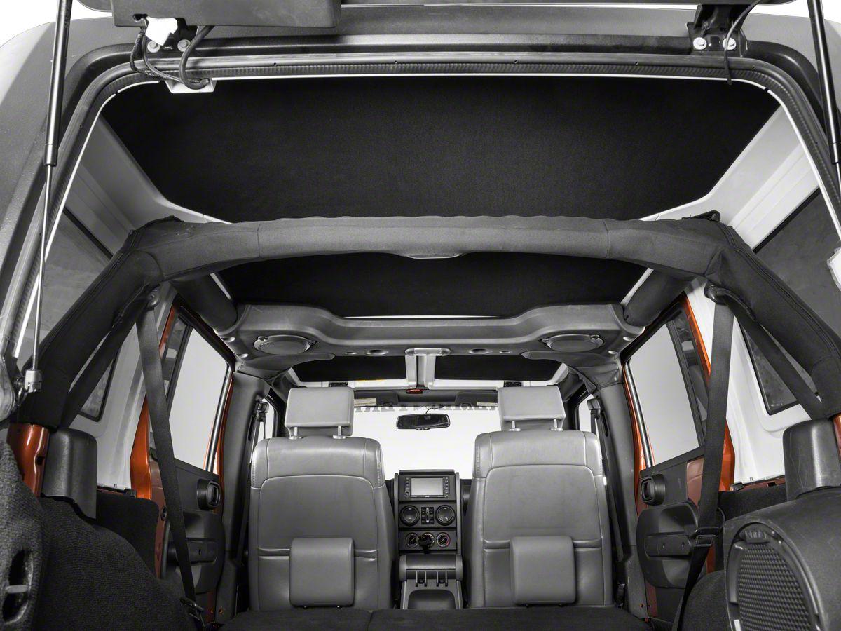Hothead Hard Top Headliner - Black (07-18 Jeep Wrangler JK 4 Door)