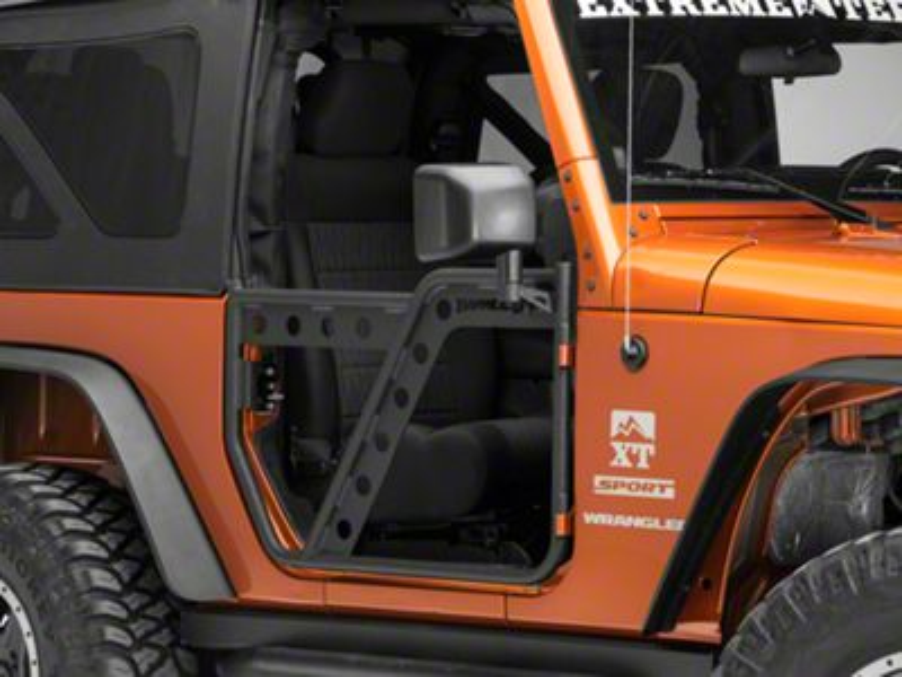 Barricade Extreme HD Adventure Doors - Front (07-18 Jeep Wrangler JK)