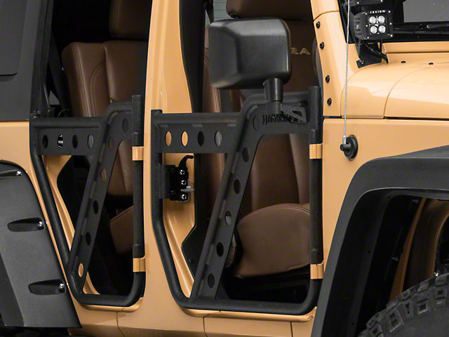 Barricade Extreme HD Adventure Doors - Rear (07-18 Wrangler JK)