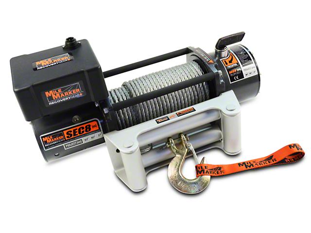 Mile Marker SEC8 ES 8,000 lb. Waterproof Electric Winch