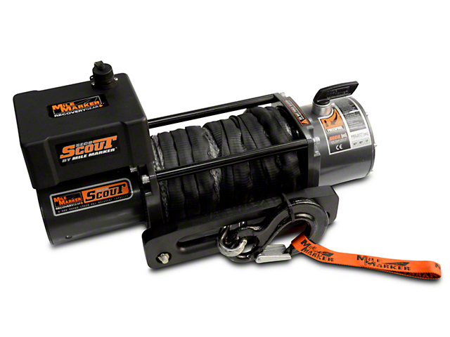 Mile Marker SEC8 ES 8,000 lb. Waterproof Electric Winch w/ Synthetic Rope