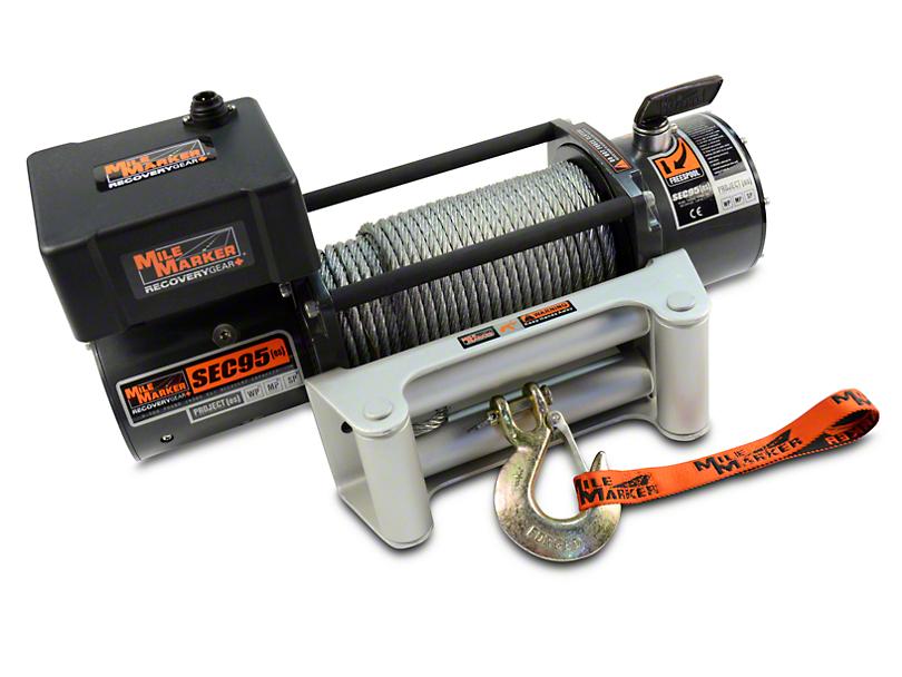 Mile Marker SEC9.5 ES 9,500 lb. Waterproof Electric Winch