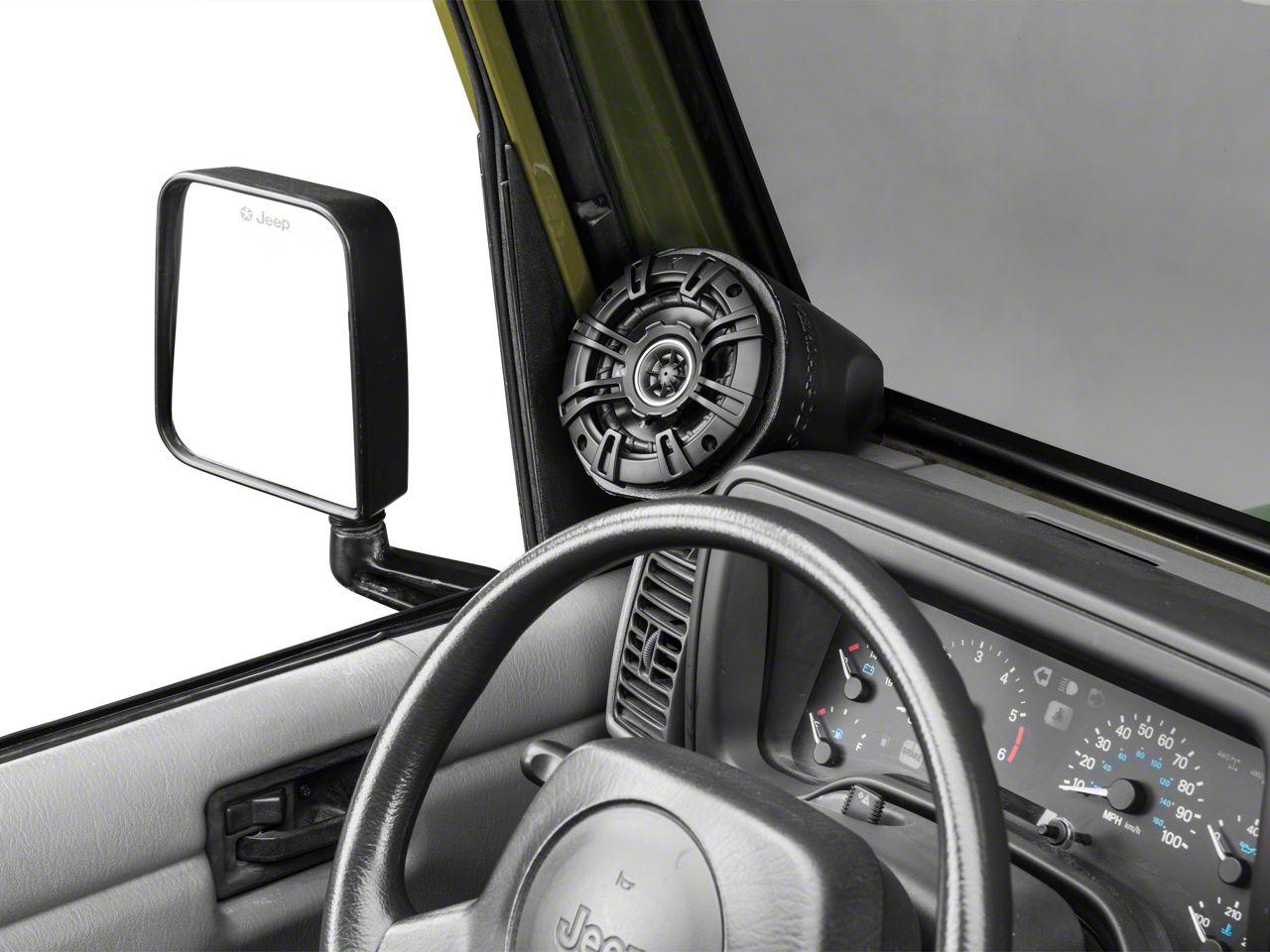 Select Increments Versa-Pods w/o Speakers (87-19 Jeep Wrangler YJ, TJ, JK & JL)