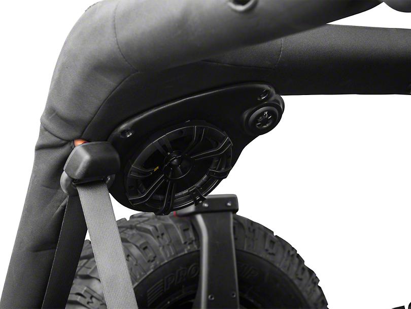 Select Increments JKU Speaker Pods (07-18 Jeep Wrangler JK 4 Door)