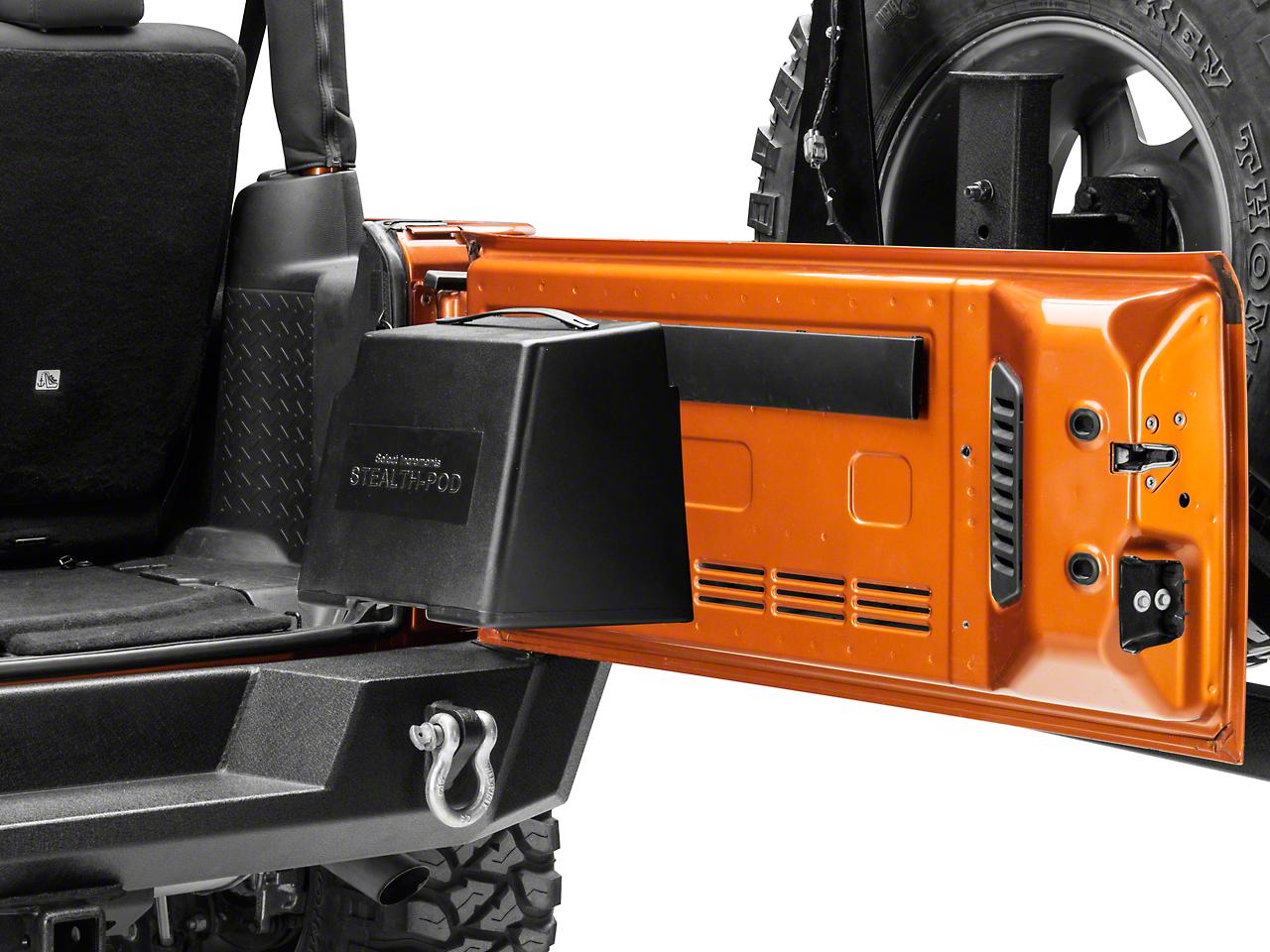Select Increments Stealth-Pod (87-18 Jeep Wrangler YJ, TJ, JK & JL)