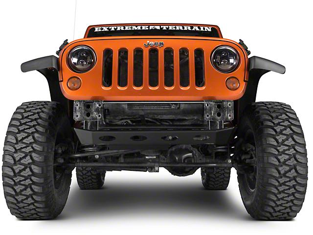 Poison Spyder Brawler MID Front Skid Plate - SpyderShell Armor Coat (07-18 Jeep Wrangler JK)