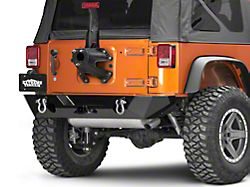 Poison Spyder RockBrawler II Rear Bumper - SpyderShell Armor Coat (07-18 Jeep Wrangler JK)
